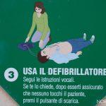 istruzioni defibrillatore