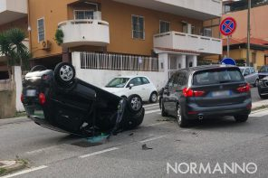 Messina. Brutto incidente all'Annunziata: coinvolte due auto