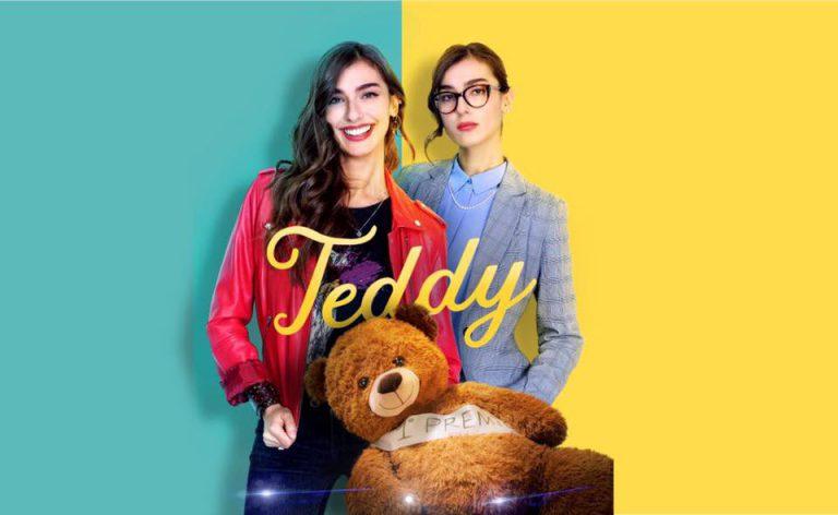 stella egitto, attrice di messina, in teddy