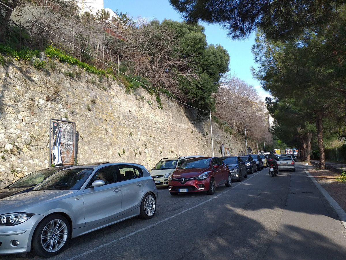traffico panoramica messina