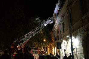 Messina. Crollato nella notte un cornicione da un palazzo del centro
