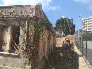 Lavatoio di epoca fascista al villaggio Matteotti: