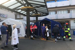 Policlinico di Messina. Montato presidio di Pronto Soccorso in vista del black out di domani