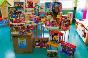 """""""Dona un sorriso"""": 700 euro di giocattoli al Policlinico di Messina"""