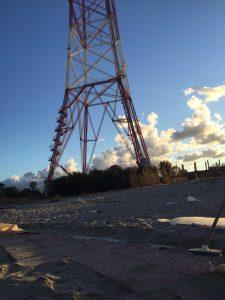 """Resti del lido """"Al pilone"""" di Torre Faro"""