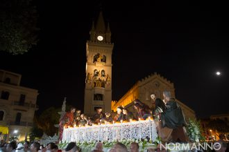 Processione delle Barette 2019 di Messina: l'ultima cena a piazza duomo