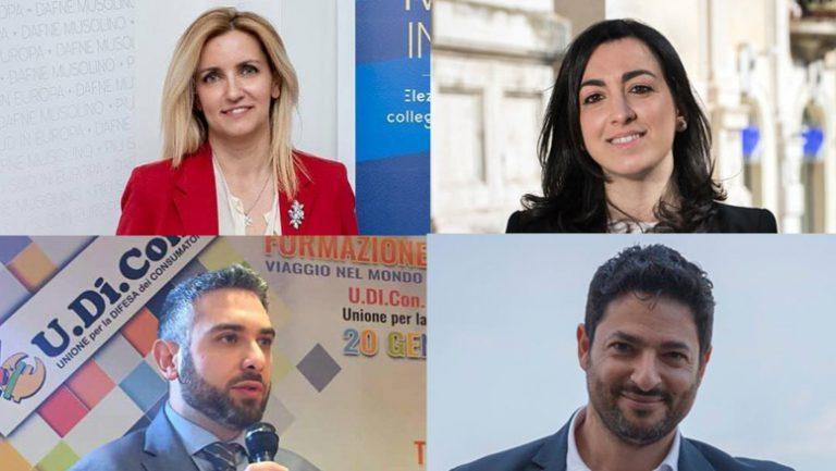 primi candidati di messina alle elezioni europee 2019: dafne musolino, maria fernanda gervasi, denis nesci, giuseppe sanò