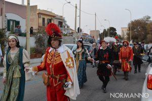 Foto della parata dei Cavalieri della Stella al Festival degli Aquiloni 2019 - Capo Peloro