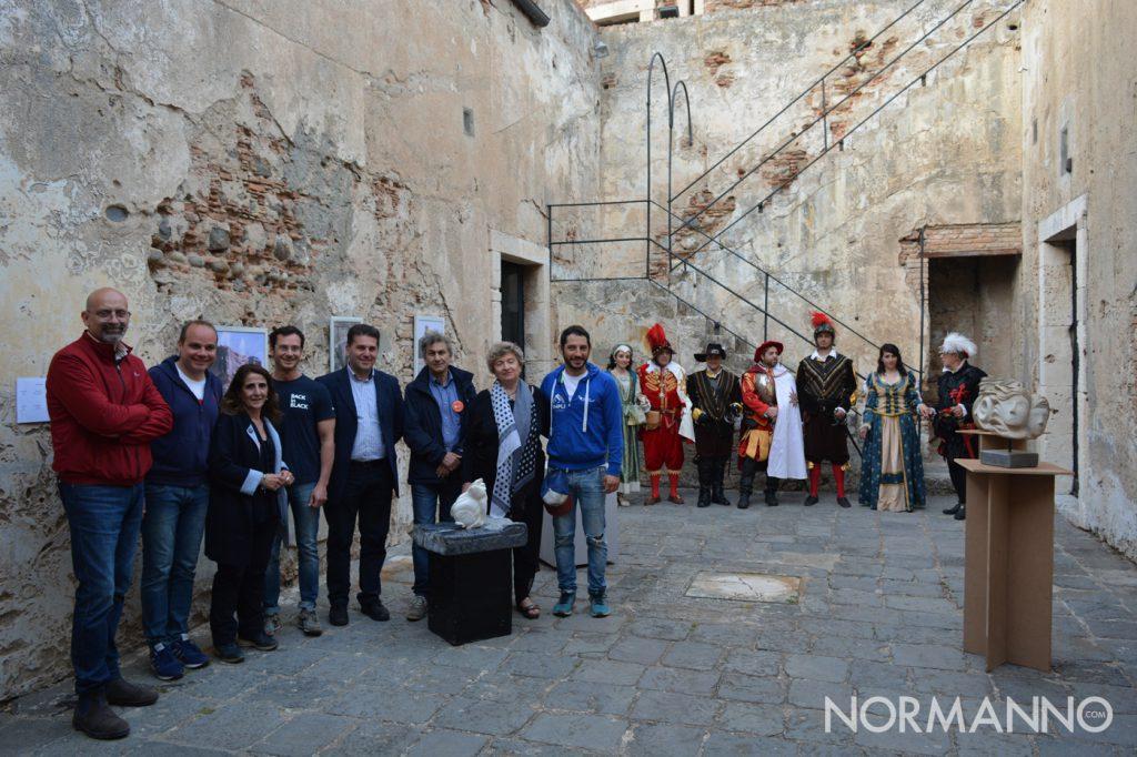 Foto degli organizzatori all'apertura del Festival degli Aquiloni 2019 - Capo Peloro