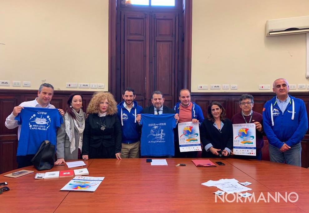 conferenza stampa di presentazione del festival degli aquiloni di capo peloro 2019, Messina