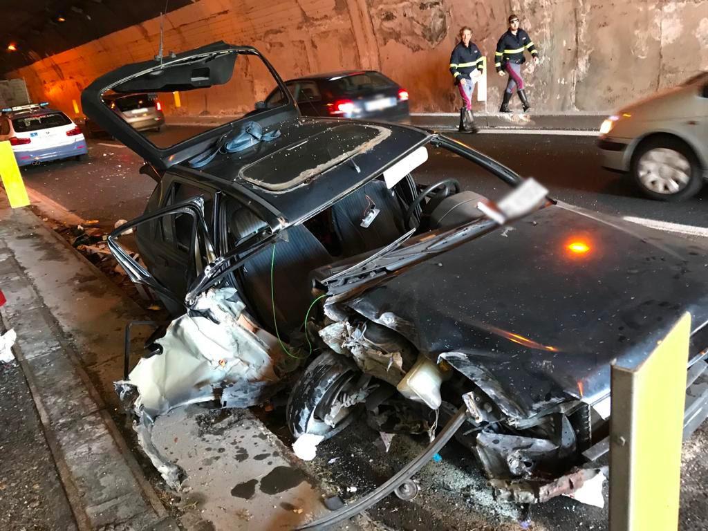 incidente autostrada a18