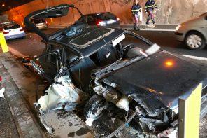 Messina. Brutto incidente sulla A18: coinvolti circa 10 veicoli