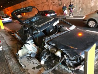 incidente autostrada a18