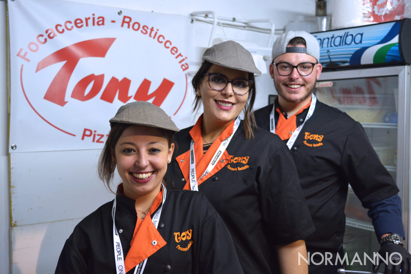 Foto dello staff di Tony allo Street Food di Primavera 2019