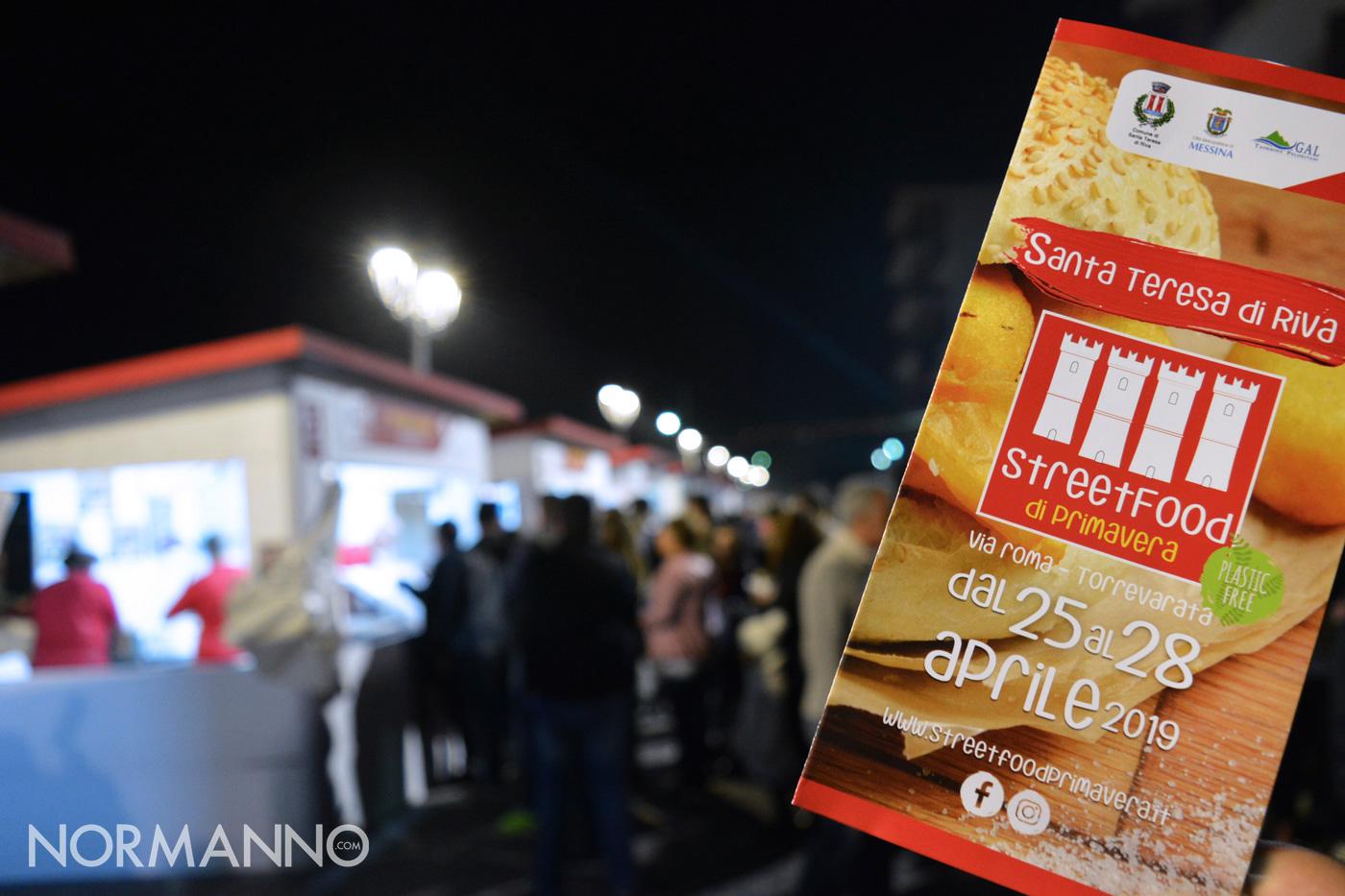 Foto stand Street Food di Primavera 2019