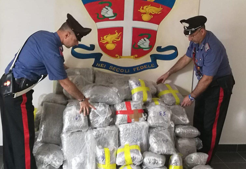 carabinieri CC Terme Vigliatore droga sequestrata