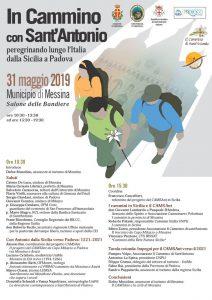 In Cammino con Sant'Antonio peregrinando lungo l'Italia dalla Sicilia a Padova
