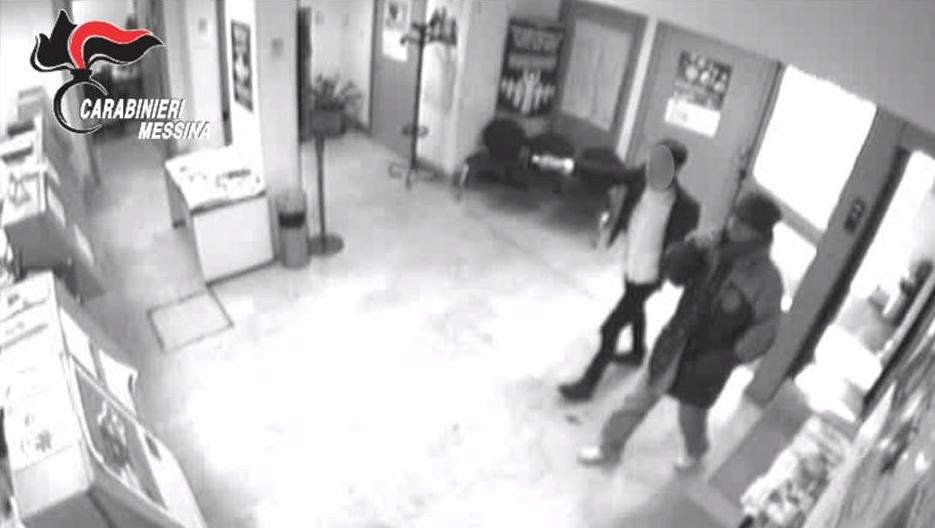 rapina in Banca a itala in provincia di messina