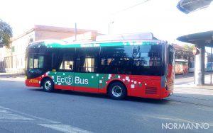 Foto degli autobus elettrici di ATM, Messina
