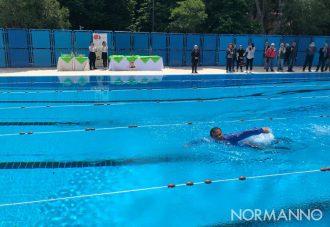 Foto inaugurazione piscina comunale di Messina - Villa Dante