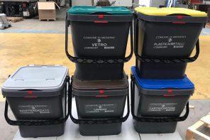 Raccolta differenziata a Messina: domani l'arrivo dei nuovi kit per i rifiuti