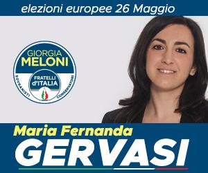 Maria Fernanda Gervasi – Elezioni Europee 26 Maggio 2019