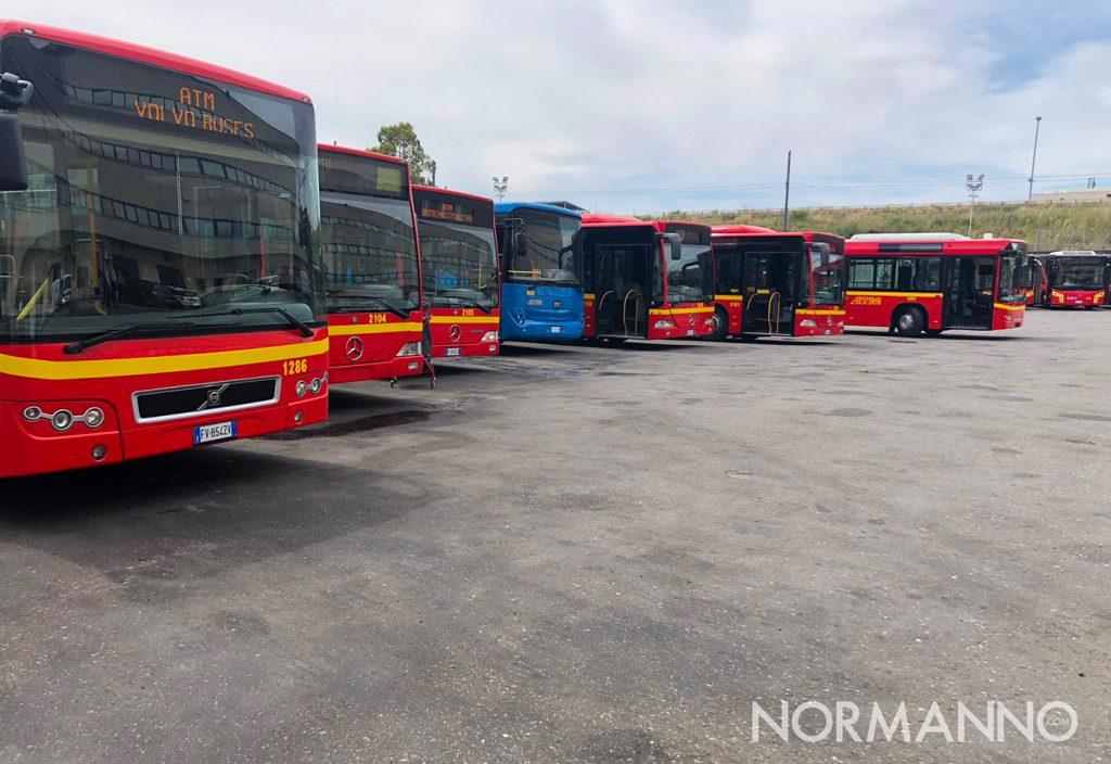 nuovi autobus atm messina