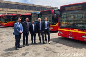 Cresce la flotta ATM: in anteprima i nuovi bus da oggi a Messina – FOTO