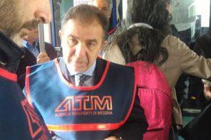 Messina. Il presidente ATM su bus e tram a fare il controllore. Multe a chi non fa il biglietto