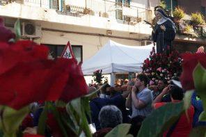 Domani a Messina la processione di Santa Rita: ecco il percorso e le limitazioni viarie