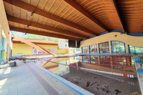 I locali sono inagibili: disposta la chiusura della piscina Cappuccini