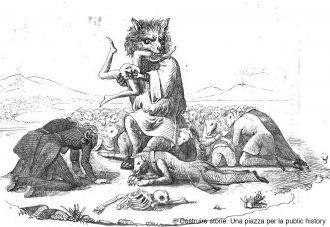 vignetta satira su messina nel risorgimento