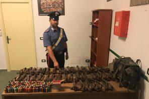 Nascondeva munizioni e trappole illegali per la caccia: denunciato 33enne
