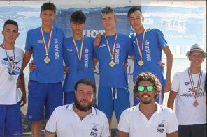 Nuoto. 1 oro, 4 argenti e 3 bronzi per l'Ulysse ai Campionati Regionali Ragazzi