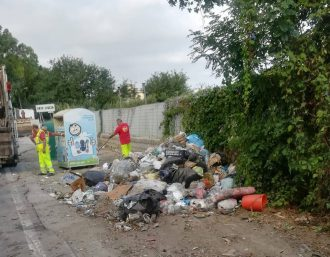 rifiuti strada statale 113 a messina