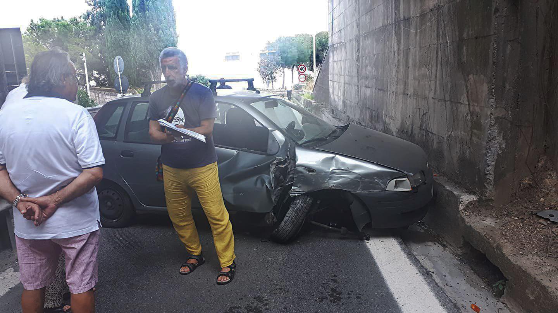 Incidente autostrada Renato Accorinti, svincolo Taormina