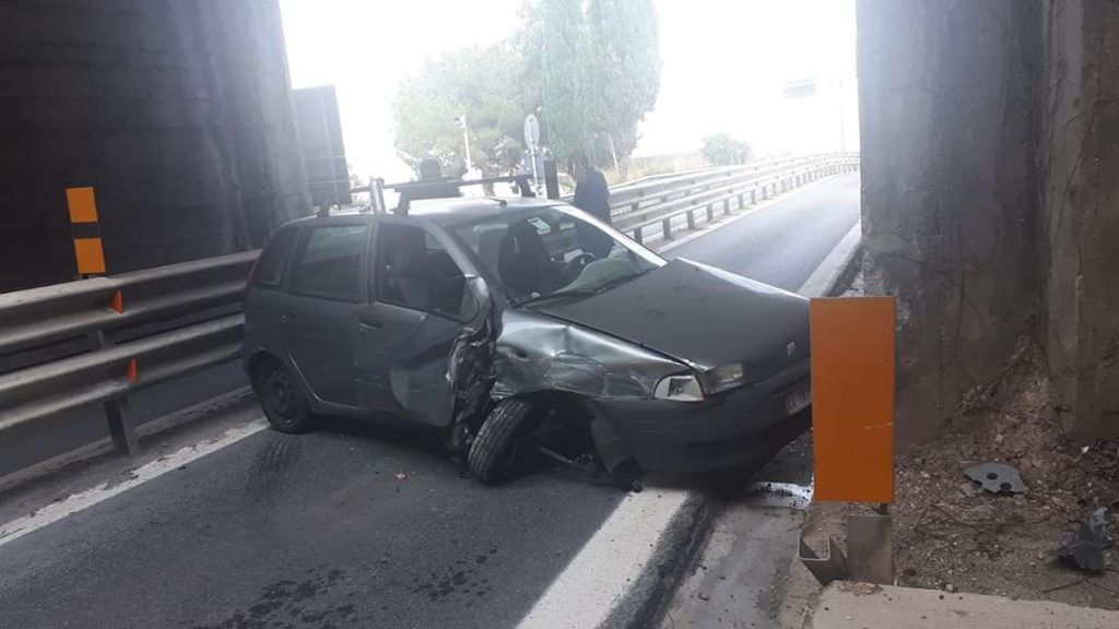 Incidente autostrada Renato Accorinti, svincolo Taormina