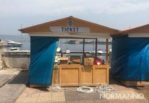 stand del Messina beer fest alla passeggiata a mare
