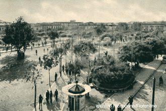 foto d'epoca di piazza cairoli, messina