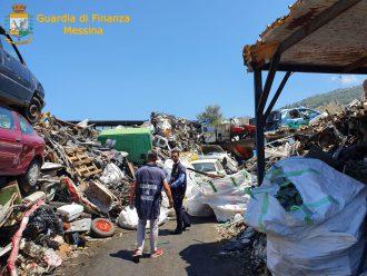 deposito abusivo rifiuti speciali e pericolosi capo d'orlando