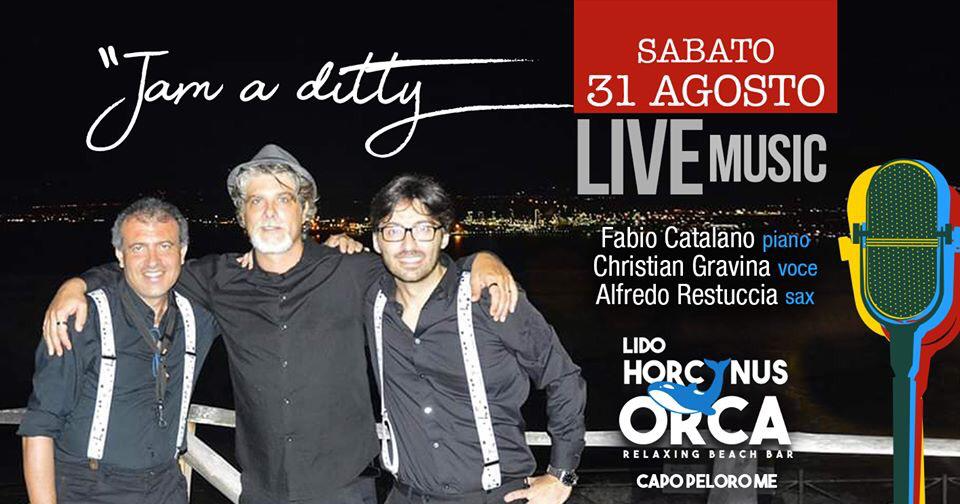 Jam a ditty live at Horcynus Orca Lido