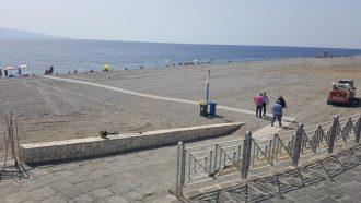 passerelle per disabili spiagge messina