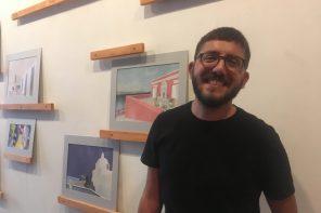 """""""Habito Ergo Sum"""": la mostra di Davide Basile alla Libreria Colapesce di Messina"""
