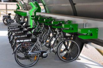 bike sharing con biciclette elettriche
