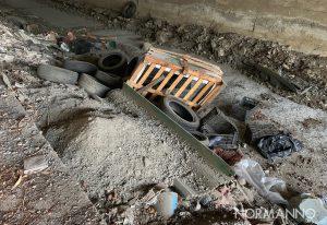 discarica a cielo aperto, rifiuti abbandonati a contrada convito a Messina