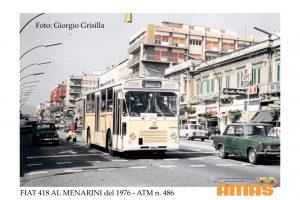foto d'epoca autobus esposta alla mostra di ATM