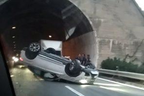 Brutto incidente sulla A18 Messina Catania: traffico paralizzato