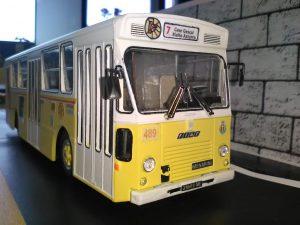 modelino autobus, mostra atm
