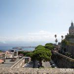 vista panorama dalle vecchie carceri di rocca guelfonia (castello mata-griffones) aperte in occasione de le vie dei tesori 2019 a messina