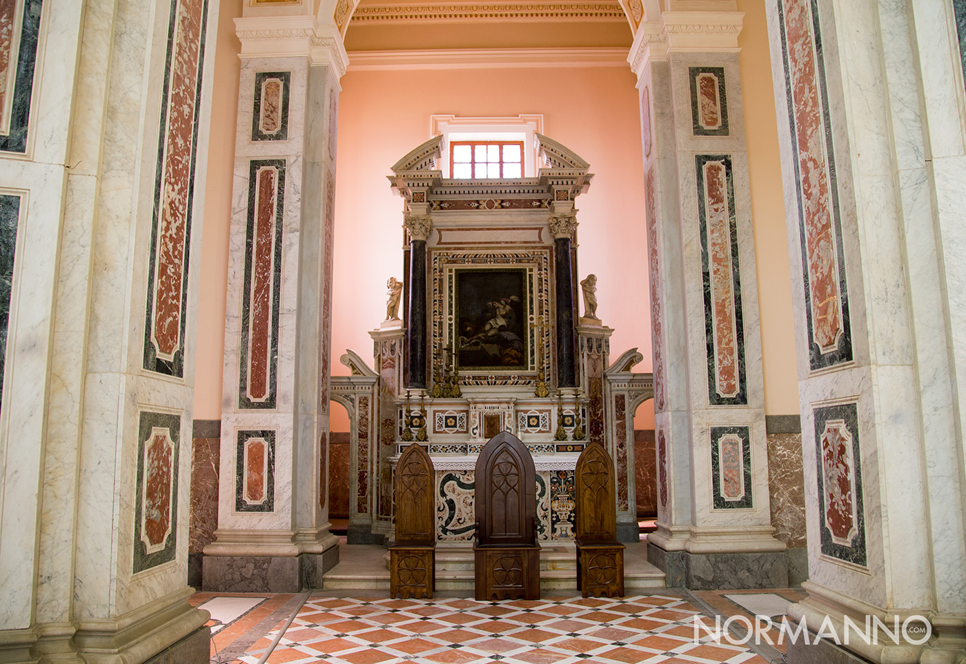 saacrario di cristo re e torre ottagona per la terza edizione de de le vie dei tesori a messina